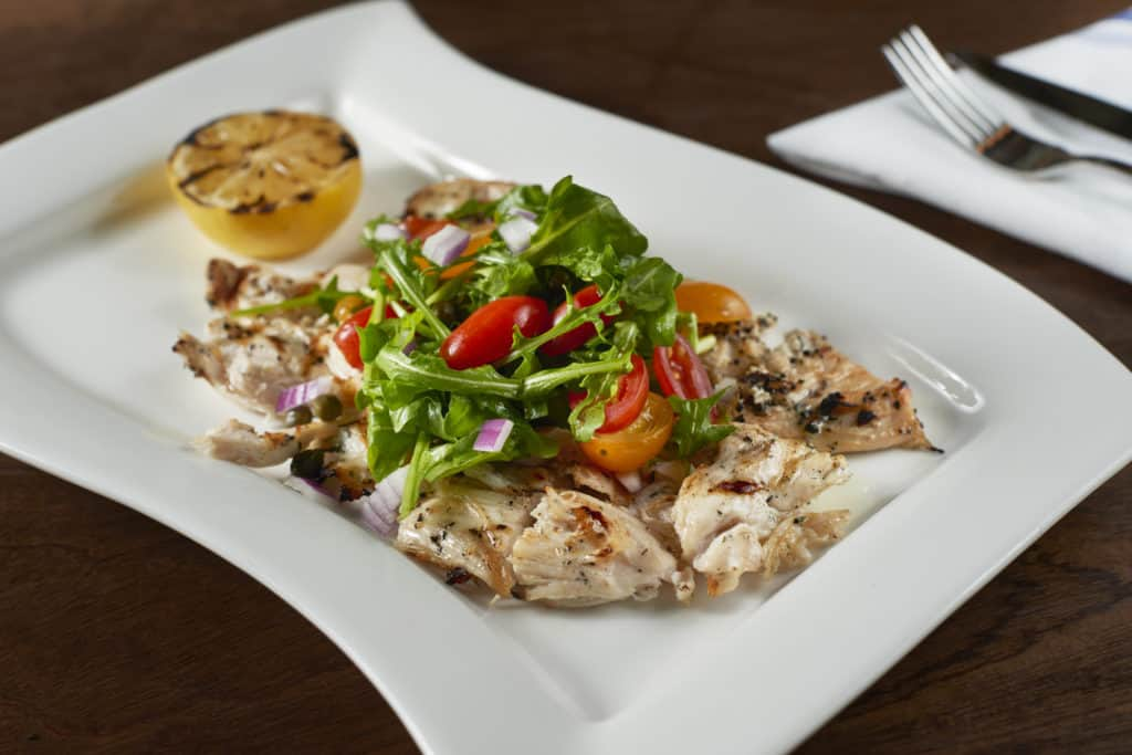 Herb Chicken Paillard