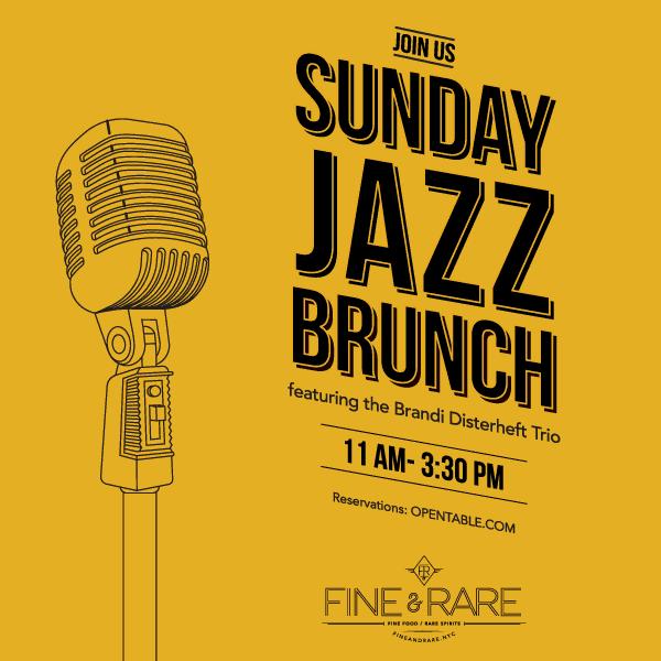 Christmas Jazz Brunch: Open 11:30 am - 3:30 pm | Fine & Rare